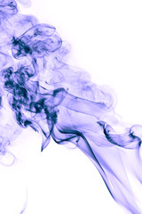 Abstract background of beautiful Blue Smoke