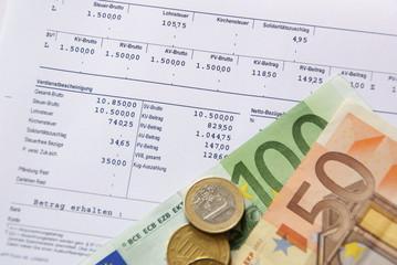 Verdienstabrechnung / Lohnzettel