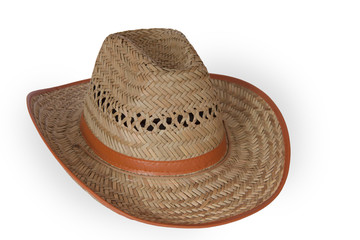 Handmade straw hat Hasır kovboy şapka