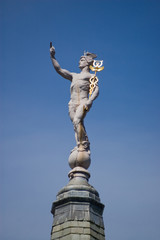 Hermes Mercury statue