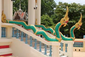 nagas, Wat Amornburanaram, Ban Phai, Khon Khan