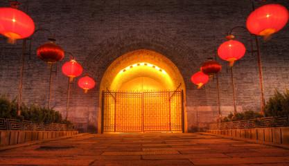 Photo sur Plexiglas Xian xian city wall west gate