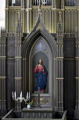 Altar mit segnendem Christus