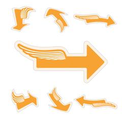 dimensional arrows