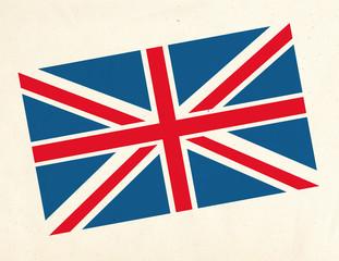 drapeau sur Tissus _ Grande Bretagne