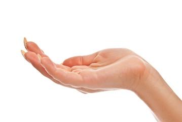 Hand open