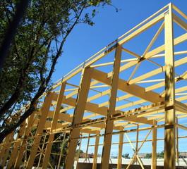 Arbre et construction bois