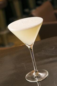 White Lady Martini cocktail