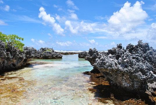 Ile aux récifs Rangiroa - Polynésie