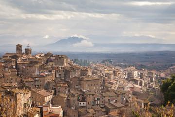 View of Caprarola, Lazio - Italy