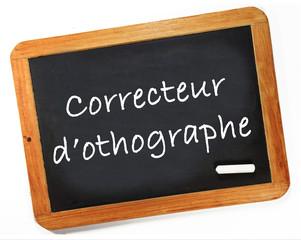 correcteur d'orhographe