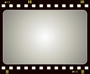 Film frame for your projects - Vector