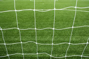 Wall Murals Air photo soccer net