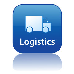 LOGISTICS Web Button (home delivery express transport service)