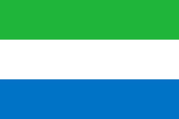 Wall Mural - Sierra Leone Flag