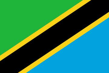 Wall Mural - Tanzania Flag
