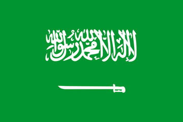 Wall Mural - Saudi Arabia Flag