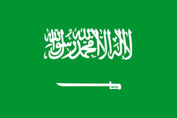 Fototapete - Saudi Arabia Flag