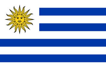Wall Mural - Uruguay Flag