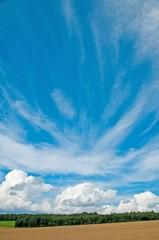 Panorama mit Wolken