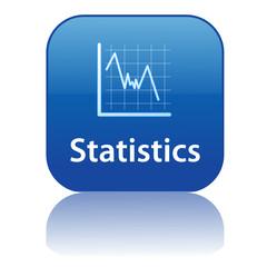 STATISTICS Web Button (chart graph metrics analysis mathematics)