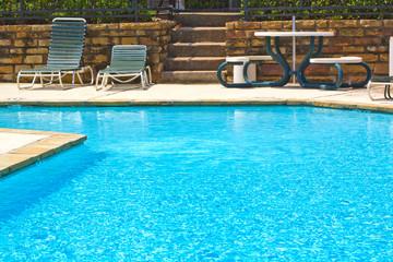 Swimming pool detail.