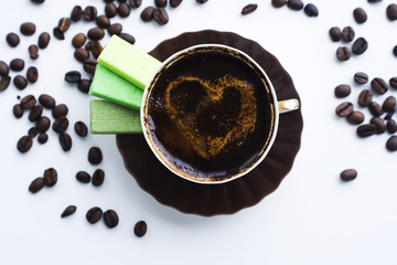 Coffie cup.