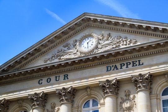 Cour d'appel à Amiens