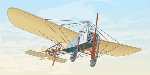 Early flight, French Plane, Bleriot XI