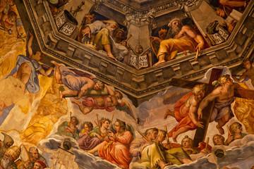 Vasari Fresco Dome Duomo Cathedral Basilica Dome Florence Italy