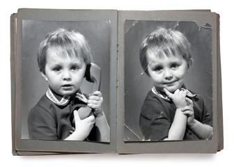 Vintage photoalbum