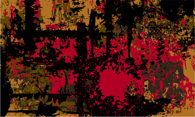Grunge abstract composition vector
