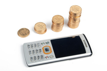 mobilephone with money