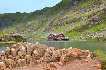 Lakeside house in the mountains 2