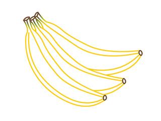 Bananes en contour
