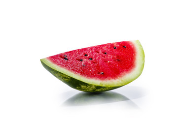 slice of fresh juisy watermelon