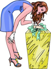 Girls and Gifts.