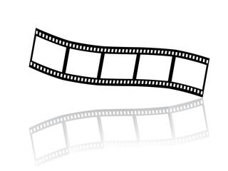 Schwarz/weiß Filmstreifen