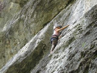 Klettern Eva