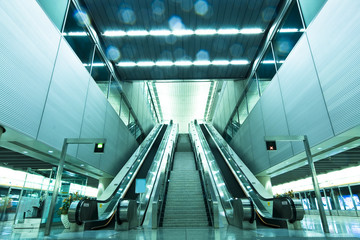 Escalator and stair