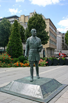 statue Charles de Gaulle,Nantes