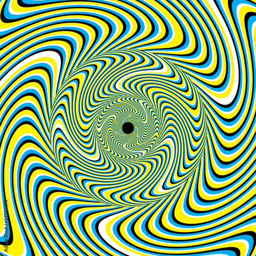 eye illusions distortion -
