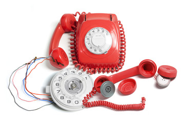 Telephone and Parts