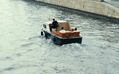 Walking boat