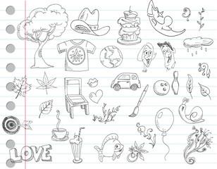 Doodle set 1