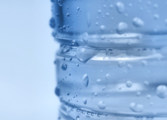 Pet bottle close-up