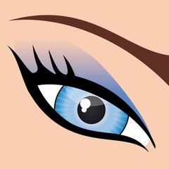 Oeil_Maquillage_Bleu