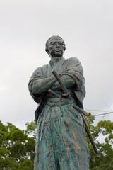 長崎の坂本龍馬像