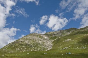 trekking on San Gottardo
