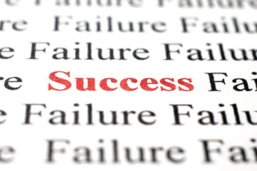 Success amongst failure